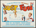 """Movie Posters:Rock and Roll, Just for Fun (Columbia, 1963). Half Sheet (22"""" X 28""""). Rock andRoll.. ..."""