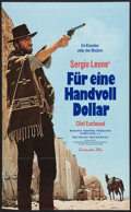 """Movie Posters:Western, A Fistful of Dollars (Constantin-Film, R-1980s). German A1 (23.25"""" X 33""""). Western.. ..."""