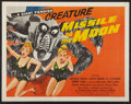 """Movie Posters:Science Fiction, Missile to the Moon (Astor Pictures, 1958). Half Sheet (22"""" X 28"""").Science Fiction.. ..."""