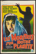 """Movie Posters:Science Fiction, I Married a Monster from Outer Space (Paramount, 1958). Belgian(13"""" X 19.75""""). Science Fiction.. ..."""