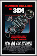 """Movie Posters:Hitchcock, Dial M For Murder (Warner Brothers, R-1982). One Sheet (27"""" X 41"""")3-D Style. Hitchcock.. ..."""
