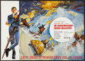 "Movie Posters:James Bond, On Her Majesty's Secret Service (United Artists, 1970). German A1(23.5"" X 33""). James Bond.. ..."