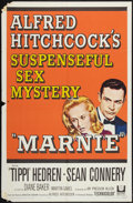 """Movie Posters:Hitchcock, Marnie (Universal, 1964). One Sheet (27"""" X 41"""") and Lobby Cards (2)(11"""" X 14""""). Hitchcock.. ... (Total: 3 Items)"""