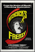 """Movie Posters:Hitchcock, Frenzy (Universal, 1972). One Sheet (27"""" X 41"""") and Lobby Card (11"""" X 14""""). Hitchcock.. ... (Total: 2 Items)"""