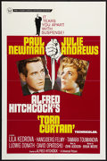 """Movie Posters:Hitchcock, Torn Curtain (Universal, 1966). One Sheet (27"""" X 41"""") and LobbyCard (11"""" X 14""""). Hitchcock.. ... (Total: 2 Items)"""