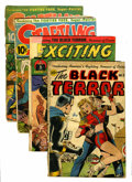 Golden Age (1938-1955):Miscellaneous, Nedor Golden Age Comics Group (Nedor, 1950s) Condition: Average FR.... (Total: 4 Comic Books)