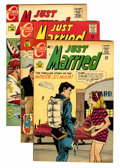 Silver Age (1956-1969):Romance, Just Married Group (Charlton, 1968-76) Condition: Average VF+....(Total: 26 Comic Books)