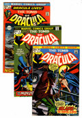 Bronze Age (1970-1979):Horror, Tomb of Dracula Group (Marvel, 1972-74).... (Total: 10 Comic Books)