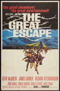 """Movie Posters:War, The Great Escape (United Artists, 1963). One Sheet (26"""" X 39.5"""").War.. ..."""