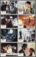 """Movie Posters:Adventure, Raiders of the Lost Ark (Paramount, 1981). Lobby Card Set of 8 (11"""" X 14""""). Adventure.. ... (Total: 8 Items)"""