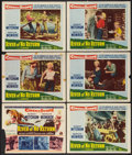 "Movie Posters:Adventure, River of No Return (20th Century Fox, 1954). Lobby Cards (6) (11"" X14""). Adventure.. ... (Total: 6 Items)"