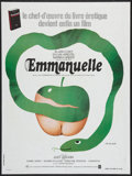 """Movie Posters:Adult, Emmanuelle (Parafrance, 1974). French Affiche (23.5"""" X 31.5""""). Adult.. ..."""