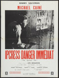 """Movie Posters:Thriller, The Ipcress File (Eclair-Journal, R-1970s). French Affiche (23"""" X 30.75""""). Thriller.. ..."""