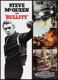 "Movie Posters:Action, Bullitt (Warner Brothers, R-1974). German A1 (23.5"" X 33"").Action.. ..."
