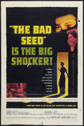 """Movie Posters:Thriller, The Bad Seed (Warner Brothers, 1956). One Sheet (27"""" X 41""""). Thriller.. ..."""