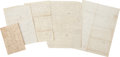 Autographs:Military Figures, George W. Brown: Group of Five Civil War-Dated Letters. ... (Total:5 Items)