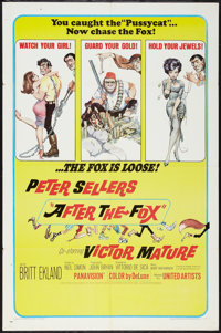 """After the Fox (United Artists, 1966). One Sheet (27"""" X 41""""). Comedy"""