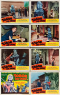 "Movie Posters:Science Fiction, Tobor the Great (Republic, 1954). Lobby Card Set of 8 (11"" X 14"")..... (Total: 8 Items)"