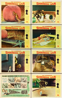 """The Incredible Shrinking Man (Universal International, 1957). Lobby Card Set of 8 (11"""" X 14""""). ... (Total: 8 I..."""