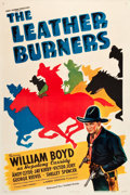 "Movie Posters:Western, The Leather Burners (United Artists, 1943). One Sheet (27"" X 41"").. ..."