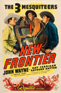 """Movie Posters:Western, New Frontier (Republic, 1939). One Sheet (27"""" X 41"""").. ..."""