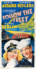 "Movie Posters:Musical, Follow the Fleet (RKO, 1936). Three Sheet (41"" X 81"").. ..."