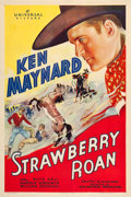 "Movie Posters:Western, Strawberry Roan (Universal, 1933). One Sheet (27"" X 41"").. ..."
