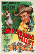 "Movie Posters:Western, San Fernando Valley (Republic, 1944). One Sheet (27"" X 41"").. ..."
