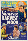 """Movie Posters:Western, Shine On Harvest Moon (Republic, 1938). One Sheet (27"""" X 41"""").. ..."""
