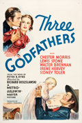 "Movie Posters:Western, Three Godfathers (MGM, 1936). One Sheet (27"" X 41"").. ..."