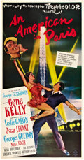 "Movie Posters:Musical, An American in Paris (MGM, 1951). Three Sheet (41"" X 81"").. ..."