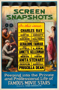 "Movie Posters:Short Subject, Screen Snapshots (Columbia, 1920s). One Sheet (27"" X 41"").. ..."