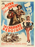"Movie Posters:Western, Virginia City (Warner Brothers, 1946). Post-War French Grande (47"" X 63"").. ..."