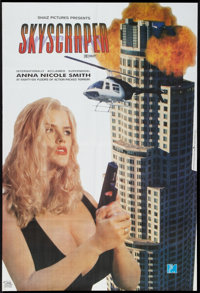 "Skyscraper (PM Entertainment, 1996). Pakistani Poster (26"" X 38""). Action"