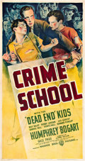 """Movie Posters:Crime, Crime School (Warner Brothers, 1938). Three Sheet (41"""" X 81"""").. ..."""