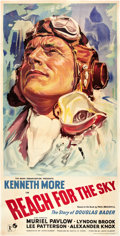 """Movie Posters:War, Reach for the Sky (Rank, 1956). British Three Sheet (40"""" X 78.5"""")....."""