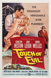 """Touch Of Evil (Universal International, 1958). One Sheet (27"""" X 41"""")"""