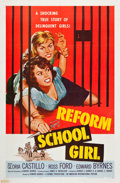 "Movie Posters:Bad Girl, Reform School Girl (American International, 1957). One Sheet (27"" X 41"").. ..."