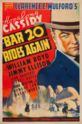 "Movie Posters:Western, Bar 20 Rides Again (Paramount, 1935). One Sheet (27"" X 41"").. ..."