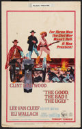 "Movie Posters:Western, The Good, the Bad and the Ugly (United Artists, 1968). Window Card (14"" X 22""). Western.. ..."