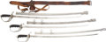 """Military & Patriotic:WWI, Group of Three M1903 """"Saber for All Officers.""""... (Total: 3 Items)"""