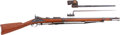 Military & Patriotic:Indian Wars, Near Mint U.S. M1884 .45-70 Rifle with the Original Bayonet andScabbard, #493333....