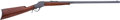 """Military & Patriotic:WWI, Winchester Model 1885 High Wall Rifle. Cal. .30 US. Serial Number100464 (1912 Production Range). 30"""" Round Medium Weight ..."""