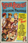 "Movie Posters:Comedy, Little Rascals Stock Poster (Monogram, R-1952). One Sheet (27"" X 41"") ""Pigskin Palooka."" Comedy.. ..."