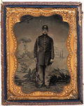 Military & Patriotic:Civil War, Grouping of Three Nice Union Soldier Images.... (Total: 3 Items)