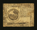 Colonial Notes:Continental Congress Issues, Continental Currency May 20, 1777 Contemporary Counterfeit $6Fine....