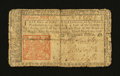 Colonial Notes:New Jersey, New Jersey March 25, 1776 18d Fine....