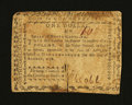 Colonial Notes:North Carolina, North Carolina August 8, 1778 $1 Fine....