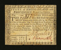 Colonial Notes:Rhode Island, Rhode Island July 2, 1780 $7 Fully Signed Very Fine....