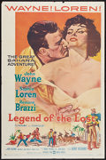 """Movie Posters:Adventure, Legend of the Lost (United Artists, 1957). One Sheet (27"""" X 41"""").Adventure.. ..."""
